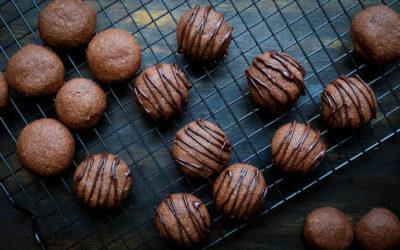 Schokoladen-Zimt-Plätzchen